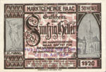 Austria, 50 Heller, FS 318VIb