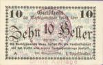 Austria, 10 Heller, FS 318IIIb