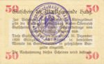 Austria, 50 Heller, FS 318IIIb