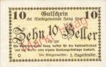 Austria, 10 Heller, FS 318II
