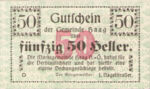 Austria, 50 Heller, FS 318II