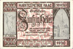 Austria, 50 Heller, FS 318IVc