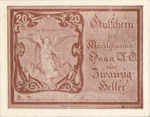 Austria, 20 Heller, FS 318V