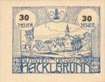 Austria, 30 Heller, FS 323Ia