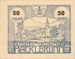 Austria, 50 Heller, FS 323Ia