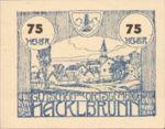 Austria, 75 Heller, FS 323Ia