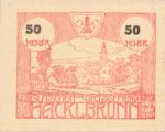 Austria, 50 Heller, FS 323Ic