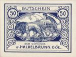 Austria, 50 Heller, FS 323IVa