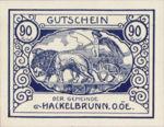 Austria, 90 Heller, FS 323IVa