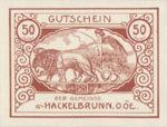 Austria, 50 Heller, FS 323IVb