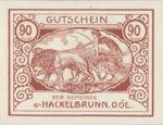 Austria, 90 Heller, FS 323IVb