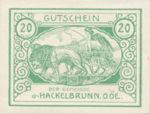 Austria, 20 Heller, FS 323IVc