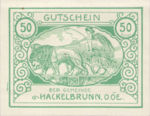 Austria, 50 Heller, FS 323IVc