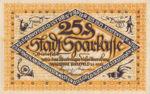Germany, 25 Pfennig, B44.9b