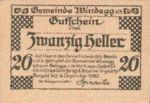 Austria, 20 Heller, FS 1241Ia