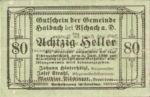 Austria, 80 Heller, FS 332Ib?