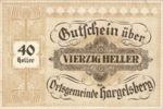 Austria, 40 Heller, FS 349IIc