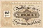 Austria, 60 Heller, FS 349IIc