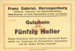 Austria, 50 Heller, FS 370Ia