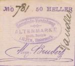 Austria, 50 Heller, FS 28Ib