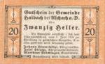 Austria, 20 Heller, FS 332IbA?