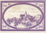 Austria, 80 Heller, FS 332IIb