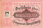 Austria, 25 Heller, FS 349IIa