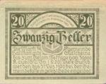 Austria, 20 Heller, FS 345