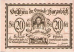 Austria, 20 Heller, FS 378IIa