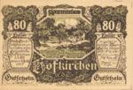 Austria, 80 Heller, FS 385a