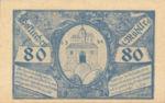 Austria, 80 Heller, FS 386Ia2