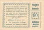 Austria, 80 Heller, FS 386Ic