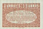 Austria, 20 Heller, FS 401a