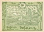 Austria, 10 Heller, FS 923Aa
