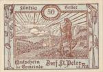 Austria, 50 Heller, FS 923Ab