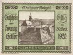Austria, 20 Heller, FS 1122.5IIa