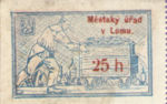 Republic of Czechoslovakia, 25 Heller,