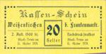 Austria, 20 Heller, FS 1157IIa