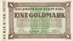 Germany, 1 Gold Mark, K020b