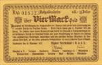 Germany, 4 Gold Mark, K012