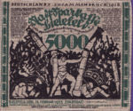Germany, 5,000 Mark, 068a