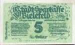 Germany, 5 Gold Pfennig, 93