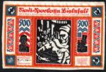 Germany, 500 Mark, 052a