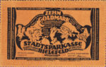 Germany, 10 Gold Mark, 112b