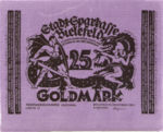Germany, 25 Gold Mark, 114a