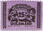 Germany, 25 Gold Mark, 114b