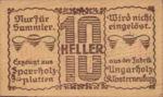 Austria, 10 Heller, FS 327Ic
