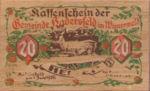 Austria, 20 Heller, FS 327Ic