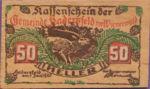 Austria, 50 Heller, FS 327Ic