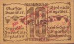 Austria, 10 Heller, FS 327If